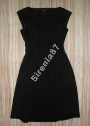 Черное миди платье №411