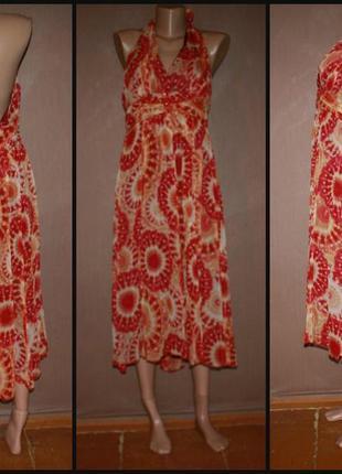 Стильное коктейльное платье №332