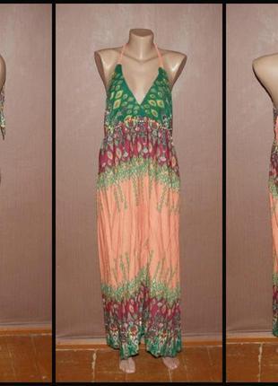 №352 стильное летнее платье.