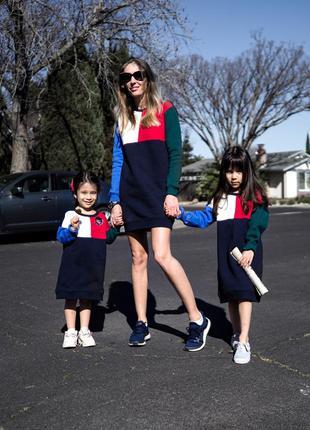 Детское платье tommy hilfiger, детский свитшот tommy hilfiger