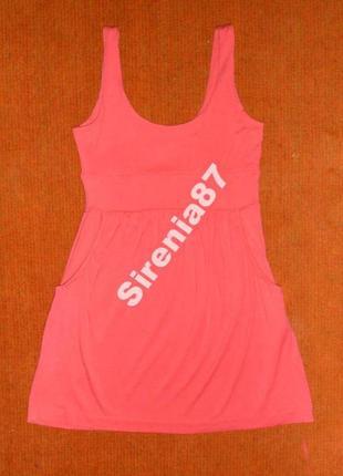 №117 летнее розовое платье