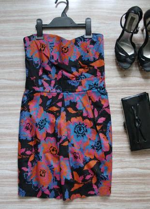 Стильное коктейльное платье №476