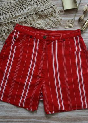 №268 джинсовые шорты с высокой посадкой