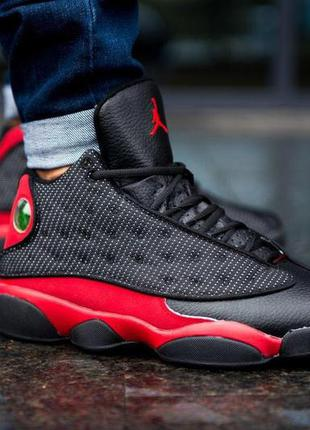 Кроссовки air jordan retro 13 bred