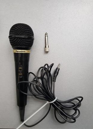 Микрофон Panasonic RP-VK21 jack 3,5 и адаптер-переходник 6,3