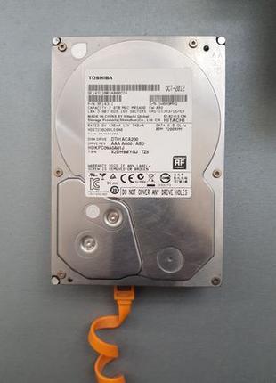 "Жесткий диск Toshiba DT01ACA200 2TB 3.5"" 7200RPM 64MB SATAIII"