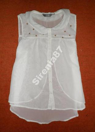 №36 стильная белая блуза