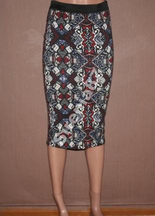 13 стильная миди юбка  new look