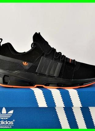 Кроссовки мужские adidas черные адидас