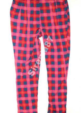 №80 стильные яркие брюки в клетку  river island