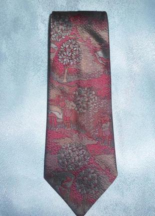 Галстук, натуральный шелк, с роскошным рисунком sale