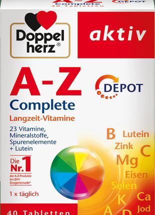 Витаминный комплекс доппельгерц (doppelherz) от а до цинка (a-...