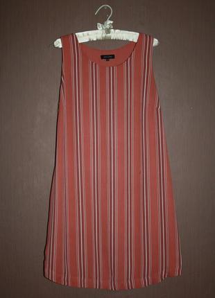 Актуальное платье прямого покроя №446