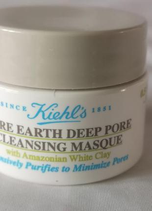 Маска для очищения пор с амазонской белой глиной   rare earth ...