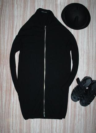 Актуальное вязаное платье бомбер кардиган bershka №519
