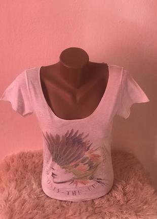 Оригинальная женская футболка diesel. размер xs