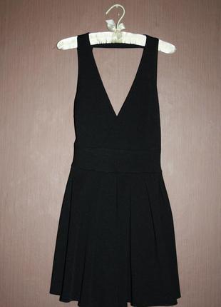 Стильное коктейльное платье с отрытой спиной №473 ax paris