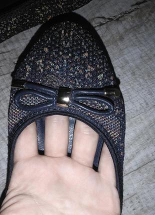 Балетки /туфли текстиль (сетка)
