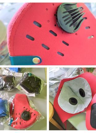 Угольный фильтр ( 60 штук сменный) + маска N95 в подарок