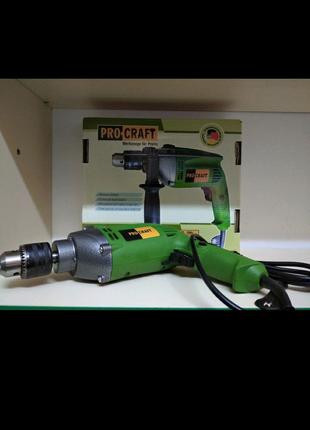 Дрель ударная PROCRAFT  PS  950