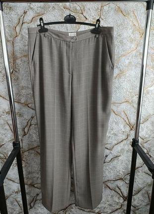 Тонкие женские брюки h&m большого размера