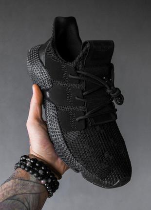 """Adidas prophere """"black""""  мужские кроссовки чёрные"""