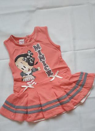 Летнее платье на девочку Minice Турция