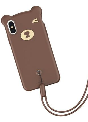 Baseus Bear на IPhone