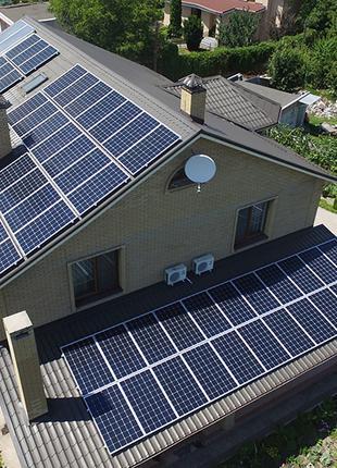 """Солнечная электростанция """"под ключ""""."""