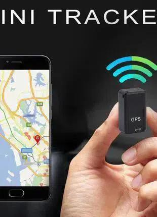 GPS трекер мини GF-07 с микрофоном GSM/GPRS маячок чип прослушка