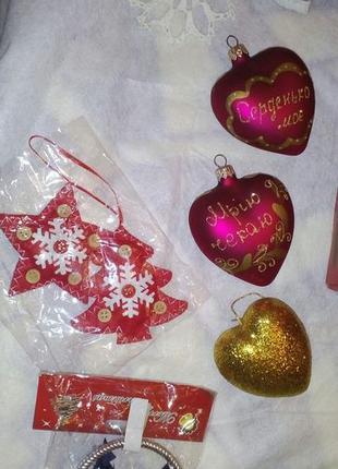 Новогодние игрушки набором (100грн.)