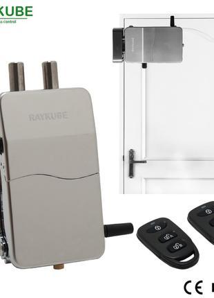 Raykube R-W39 скрытый умный электронный замок невидимка на дверь