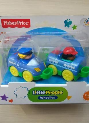 Игровой набор паровозик Fisher-Price Little People Asst. X7819
