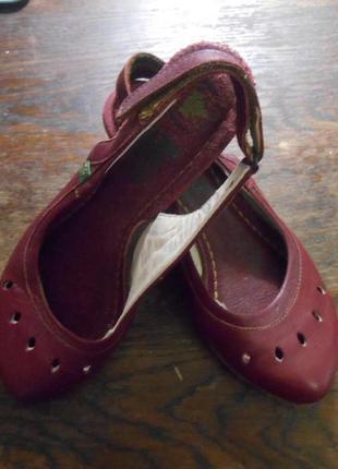 Мега крутые босоножки  испанская эко-обувь el naturalista  кож...