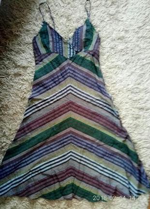 Летний индийский сарафан