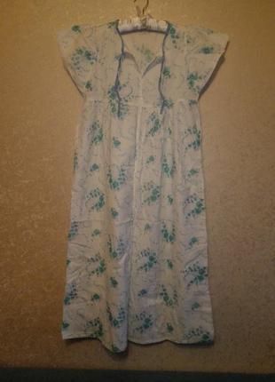 Ночнушка рубашка женская хлопок