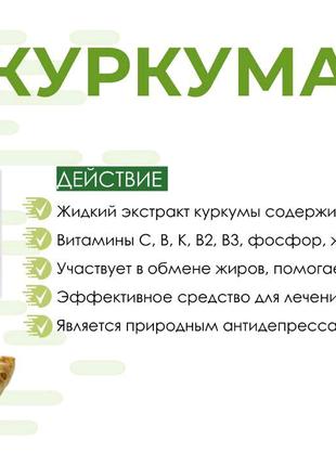 Харчова добавка Куркумін, Nutriplus