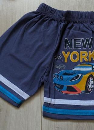 Катоновые шорты бриджи для мальчика. турция
