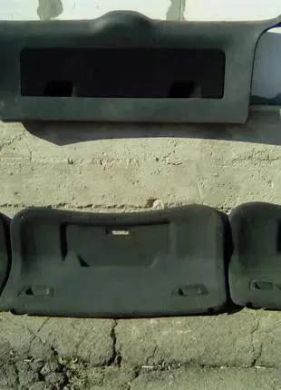 Обшивка карта крышки багажника vw passat b5