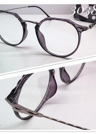Имиджевые очки. оправа под замену