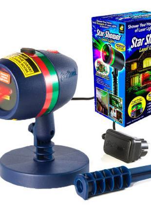 Лазерный проектор Star Shower, светодиодный прожектор для дома