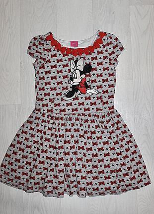 Платье минни маус 2-3 4-5