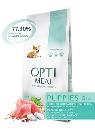 Сухой корм для щенков Optimeal 20 кг