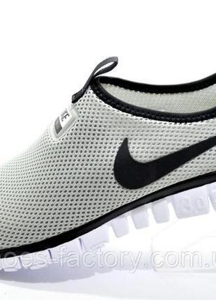 Мужские кроссовки Nike Free Run 3.0 V2 Socks, Серые, купить