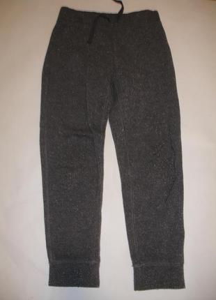 Фирменные gap спортивные штаны джогеры девочке 6-7 лет идеал