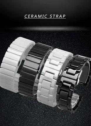 Керамический браслет 20/22 мм для Samsung gear s2/s3, Huawei