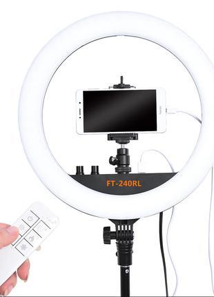 Профессиональная кольцевая лампа Fosoto, 14 дюймов