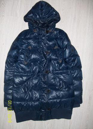 Пуховик пальто pull&bear
