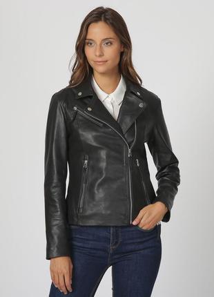 Новая идеальная куртка косуха из мягкой кожи isaco, италия кож...