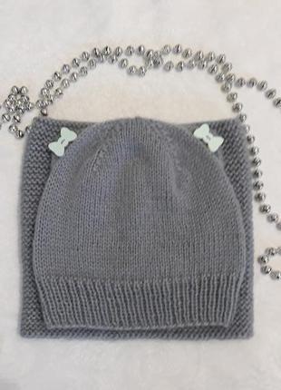 Комплект взаний дитячий (шапка+снуд)